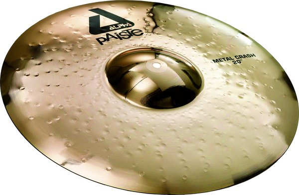 Paiste 17' Alpha Brilliant Metal Crash