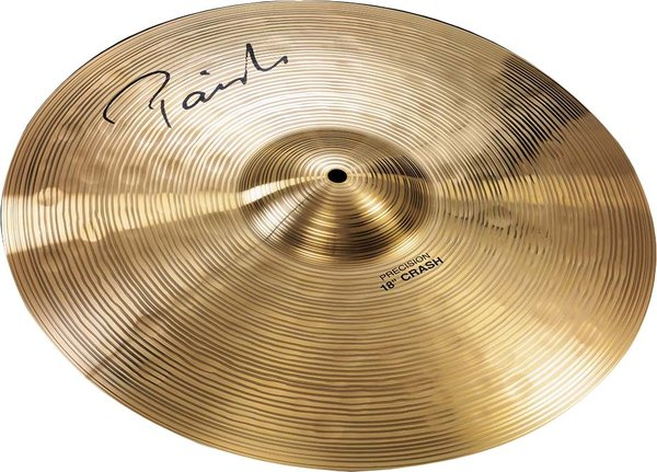 "Paiste 18' Signature Precision Crash 18"" Crash Cymbals"