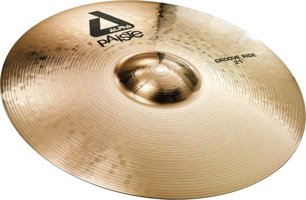 Paiste 21' Alpha Brilliant Groove Ride