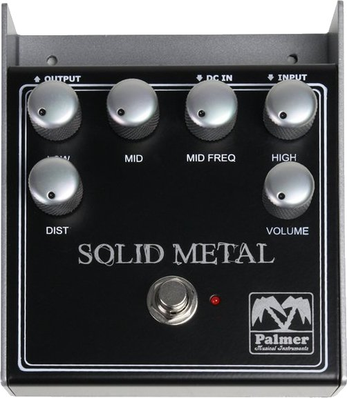 Palmer SOLID METAL Distortion Pedals