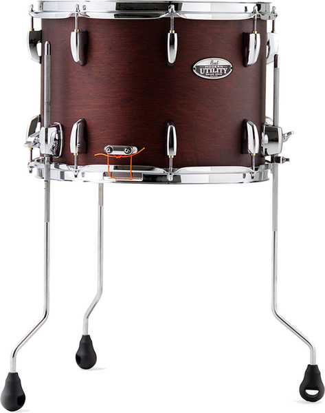 Pearl Modern Utility Floor Snare 14''x10'' (satin brown) Snare Wood Shells14""