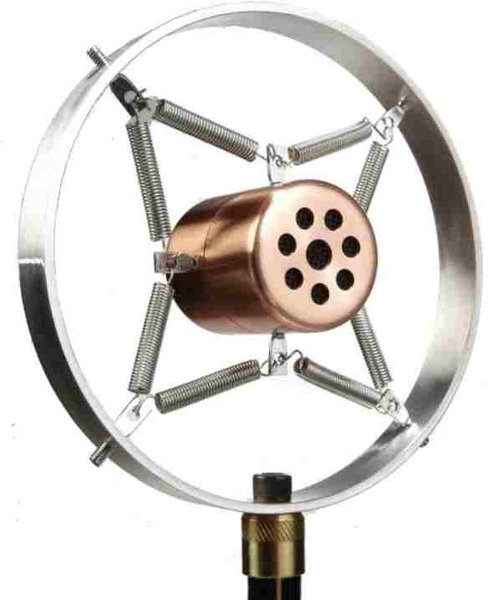 Placid Audio Copperphone Mini Mundharmonika-Mikrofon