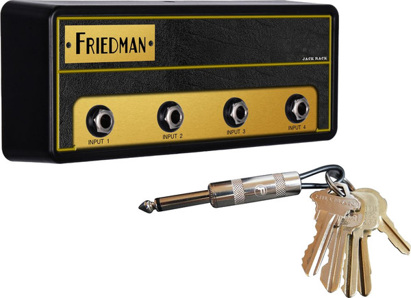 Pluginz Friedman BE-100 Jack Rack (with 4 keychains)