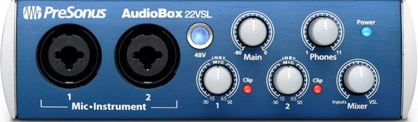 Presonus Audiobox 22 VSL USB Audio Sučelja