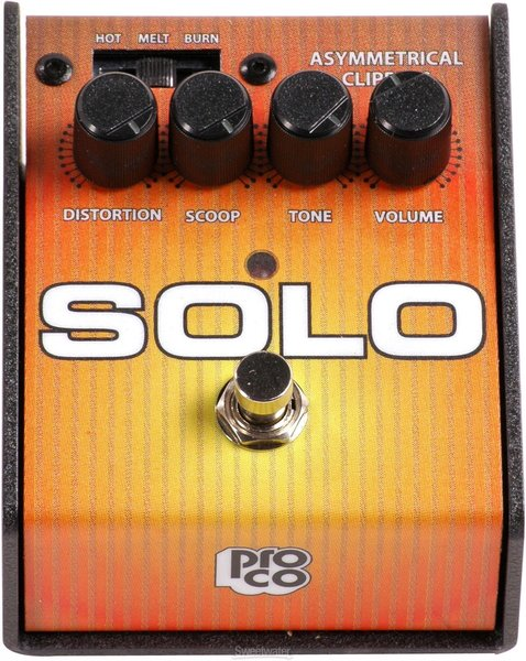 ProCo Solo Distortion Pedals