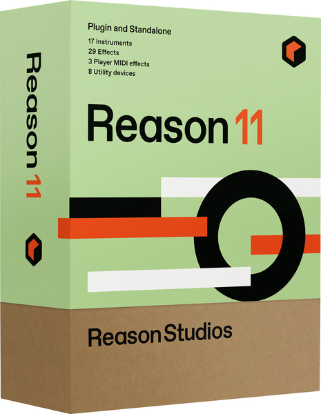 Reason Studios Reason 11 Sequencers and Virtual Studios Software