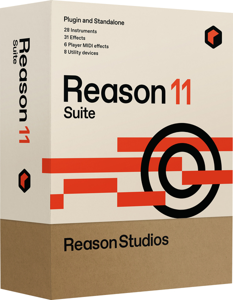 Reason Studios Reason 11 Suite Sequencer och Virtuell Studio Software