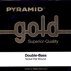 Pyramid Gold K-Bass Stahl (A) Double Bass A-Strings