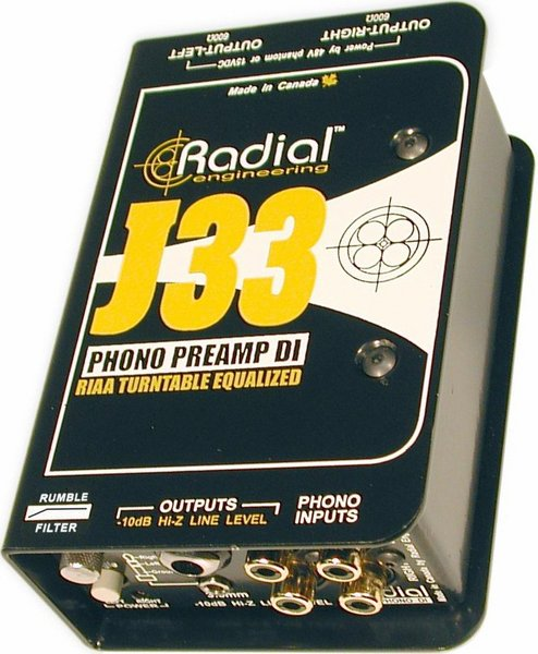 Radial J-33 Active Direct Injection Boxes