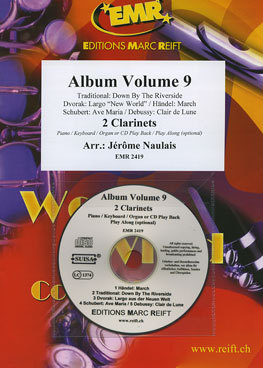 Reift Album Volume 9 Naulais Jérôme (2Clar) Songbooks for Clarinet