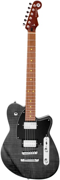 Reverend Guitars Charger RA (transparent black flame maple)
