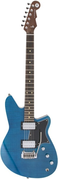 Reverend Guitars Kingbolt RA FM (Turquoise Flame Maple) Alternative Design Guitars
