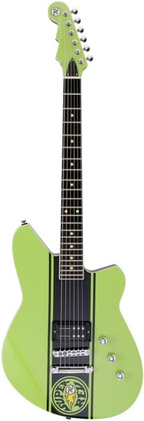 Reverend Guitars Super Rev (69 Lime) Alternative Design Guitars
