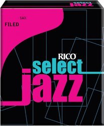 Rico Altsaxophon, filed 4H, 10er Box Alto Saxophone Reeds Strength 4