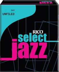 Rico Altsaxophon, unfiled 3H, 10er Box Alto Saxophone Reeds Strength 3