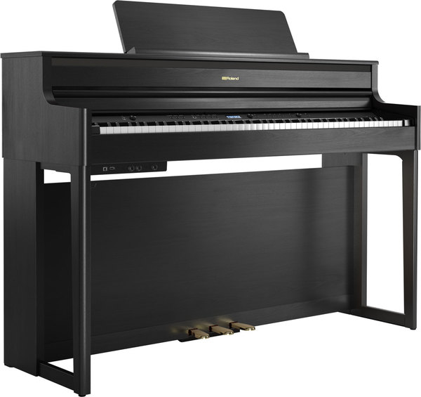 Roland HP704 (charcoal black) D-Piano Home Piano