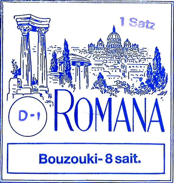 Romana 52211 Bouzouki Strings Sets
