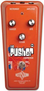 Roto Sound RPU1 The Pusher Compressor Compressor Pedals