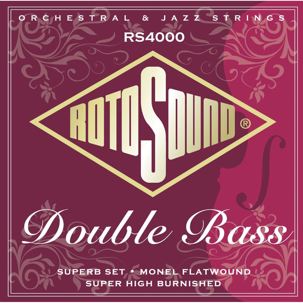 Roto Sound RS4000 Double Bass Strings Set (nylon/monel flatwound) Double Bass String Sets