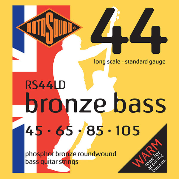Roto Sound RS44LD Phosphor Bronze (45-105) 4-String Acoustic Bass String Sets