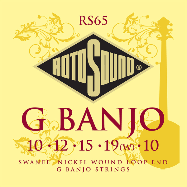 Roto Sound RS65 G Banjo Strings Set (swanee-nickel wound loop end)