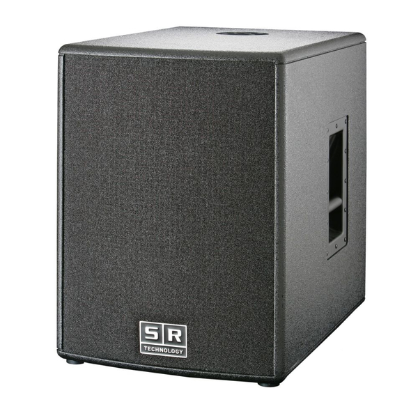 SR-Technology STW 600A (black) Aktiv-Subwoofer