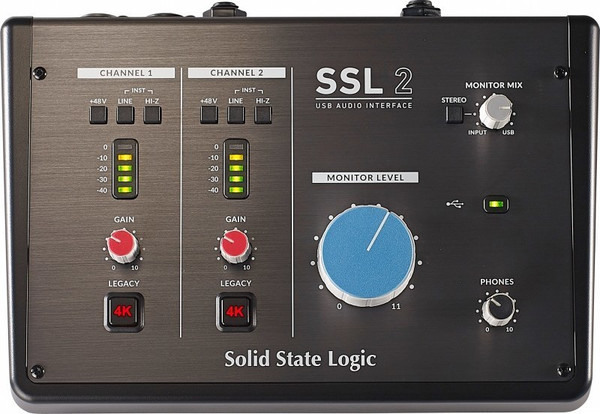 SSL 2 USB Audio Interface USB-Audio-Interface