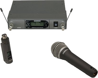 Samson AXARQ7 (863 - 865 MHz) Wireless Systems with Handheld Microphone