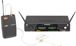 Samson CT7SECR (863-865 MHz) Wireless Microphone Headsets