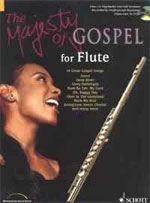 Schott Music Majesty of Gospel Songbooks for Flute