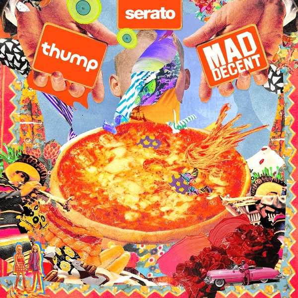 Serato SCV-SP-037-MD Mad Decent Block Party x DJ Vinyls