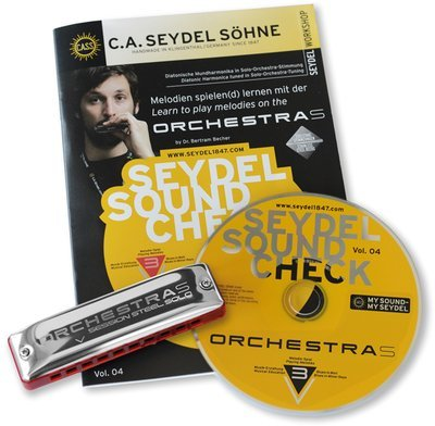 Seydel Soundcheck Vol. 4 - ORCHESTRA S - Beginner Pack
