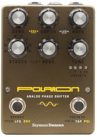 Seymour Duncan Polaron Analog Phase Shifter Phaser Pedale