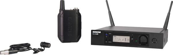 Shure GLXD14R/WL185 Lavalier (Digital) Wireless Systems with Lavalier Microphone