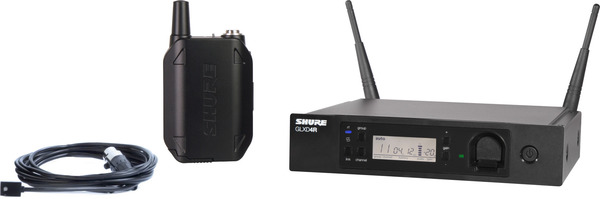 Shure GLXD14R/WL93 Lavalier (Digital) Wireless Systems with Lavalier Microphone
