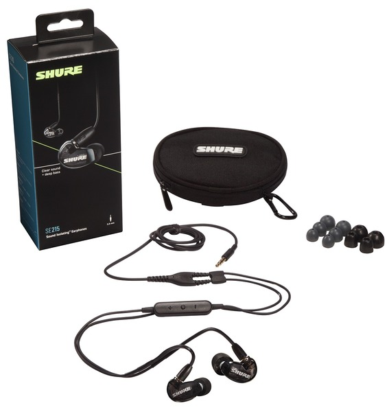 Shure SE215-K-UNI-EFS (schwarz) In-Ear Monitoring Headphones