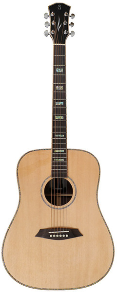 Sire R7 DS Dreadnought SIB (natural) Westerngitarrer med Pickup