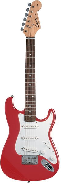 Squier Mini Stratocaster V2 (torino red) Shortscale Electric Guitars