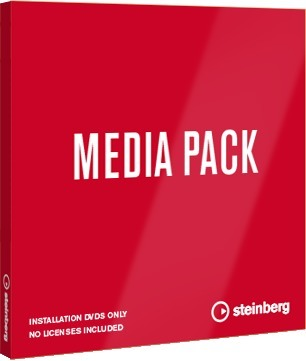 Steinberg Cubase 9.5 Pro / Artist Media Pack (PC/MAC - installation only / no license) Studio Software Accessories