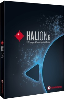 Steinberg Halion 6 (english/german/french language version)