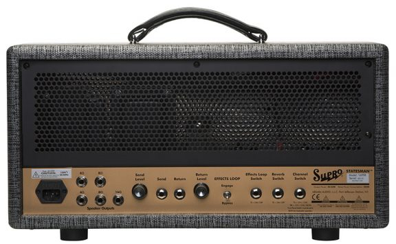Supro 1699RH Statesman Tube Amplifier Head