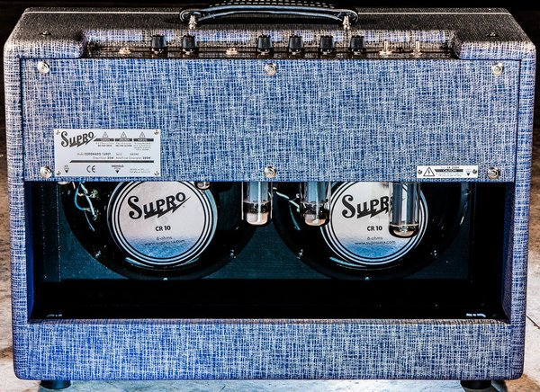 Supro Coronado 2x10 Tube Amplifier / 1690T