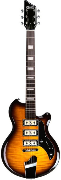 Supro Hampton (flame maple - tobacco sunburst)