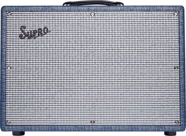 Supro Keeley Custom 12 (blue rhino hide)