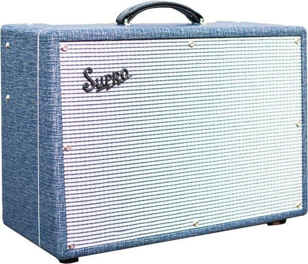 Supro Saturn Reverb 1x12 Tube Amplifier / 1648RT (with reverb & tremolo)