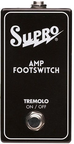 Supro Single Footswitch Tremolo On/Off Remote / SF1