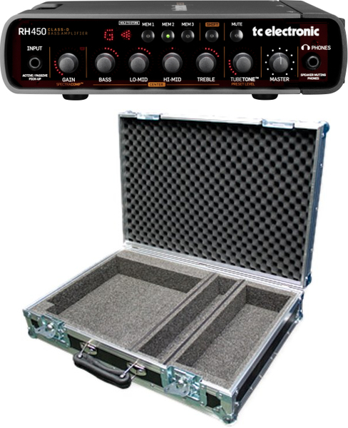 TC Electronic RH 450 (incl. flightcase) Bass-Top
