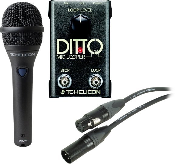 TC Helicon Ditto Mic Looper Set