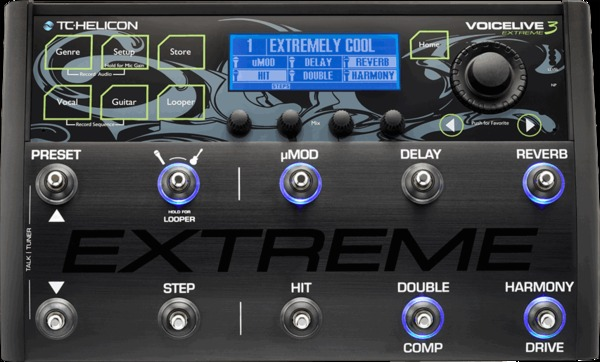 TC Helicon VoiceLive 3 Extreme Voice Effects & Processors