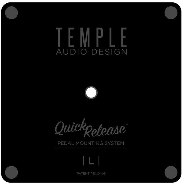 Temple Audio Design Pedal Mounting Plate (large)